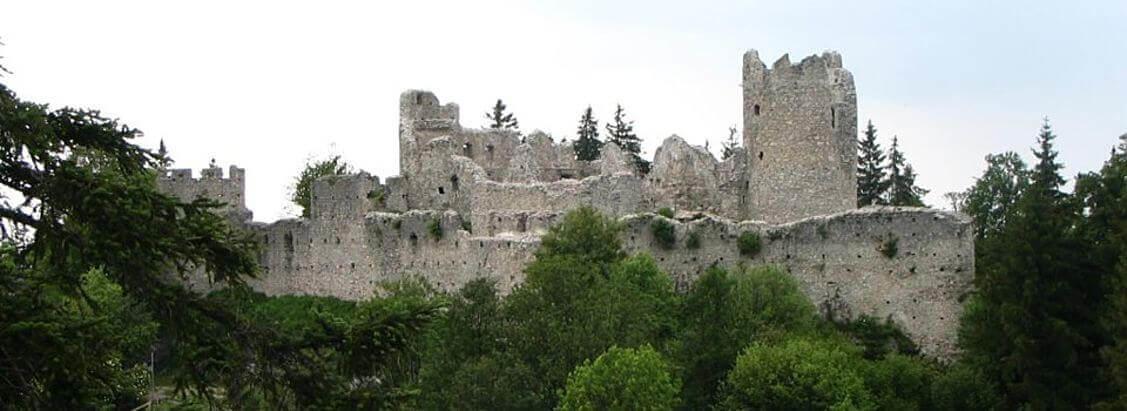 Burgruinen Eisenberg und Hohenfreyberg