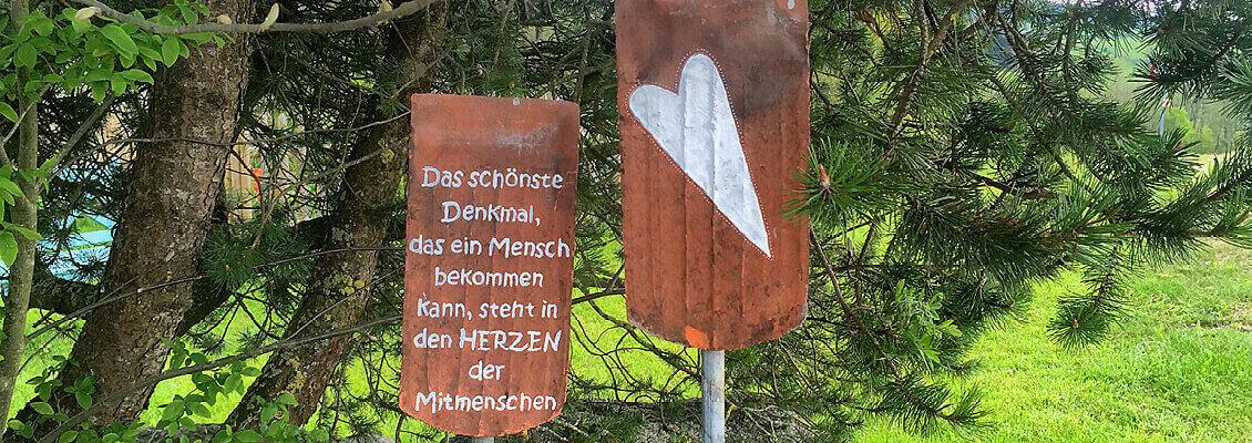 Herzerl Rundweg am Badsee / Beuren